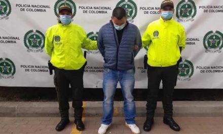 Capturan en Soacha integrante de organización criminal que delinquía en Bogotá