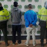 Cinco capturados en Soacha, uno es menor de edad