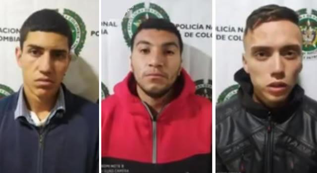 Capturan tres ladrones tras cometer millonario robo en Bogotá, se burlan de la víctima