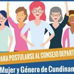 Abren inscripciones para elección del Consejo Departamental de Mujer y Género en Cundinamarca
