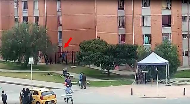 [VIDEO] Denuncian venta de droga en conjunto de Hogares Soacha