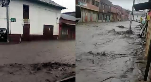 [VIDEO]  Emergencia en Une, Cundinamarca, por fuertes lluvias
