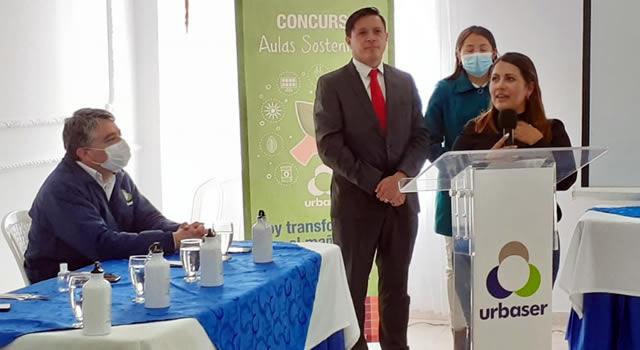 Urbaser premia los mejores proyectos ambientales en Soacha