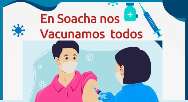 Vacunas contra el COVID-19 disponibles esta semana en la ESE de Soacha
