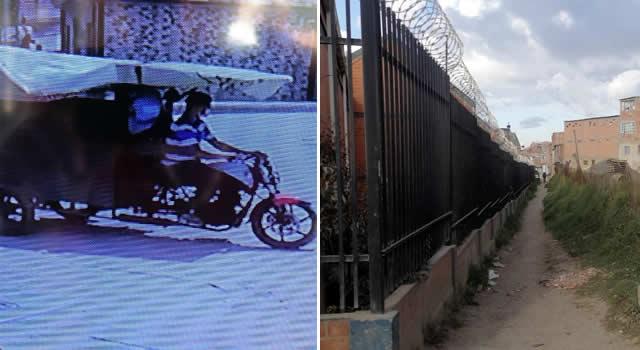 [VIDEO] Ladrones rompen rejas y se roban 8 bicicletas de conjunto residencial de Soacha